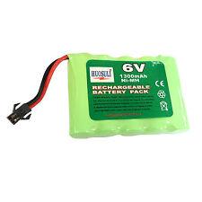 1 stk. 6V 1300mAh NiMH Wiederaufladbare Batterie Zelle Packung Spielzeug RC