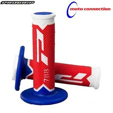 PRO-GRIP 788 RED/WHITE/BLUE TRIPLE COMPOUND MX GRIPS BETA 250RR 300RR 2016