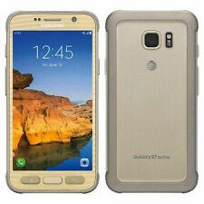 Neuf Samsung Galaxy S7 Active SM-G891A 32GB GSM AT&T Débloqué Smartphone Doré