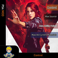 Control (PS4 Mod)-Max Source/Ability Points/All Current Materials