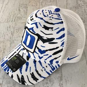 "Nike Classic 99 Hat Cap Duke Blue Devils ""Rare"" SnapBack Mesh Tye Dye SWOOSH NWT"