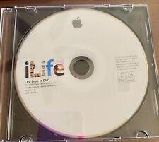ILife 09 CPU GOCCIA IN DVD v9.0 MAC MACINTOSH software Disc 2009 OS 10.5.6 Leopard