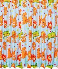 100 Official Moshi Monsters Monster Blue 66 Inch Wide X 54 Inch Drop Curtains