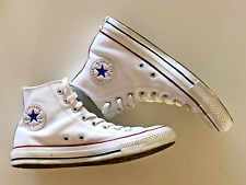 Converse Chuck Taylor All Star Leather High Top White - New size 7
