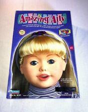 "1999 Ama 00006000 zing Ally Tea Set Bonus Accessories 16"" Interactive Talking Doll - Ec"