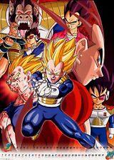 Poster A3 Dragon Ball Z Vegeta Evolucion / Vegeta Evolution 02