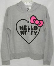 Hello Kitty Hoodie Pullover Gray NICE GIFT MEDIUM FREE USA SHIPPING