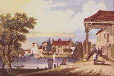 524054 Pont de Hampton Court William tombleson A4 papier photo