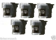 5 Printer Cartridges for Brother DCP-J125 DCP-J140W DCP-J315 W MFC- 220