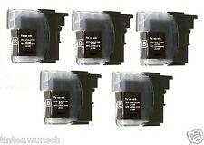 5 Druckerpatronen für Brother DCP-J125 DCP-J140W DCP-J315 W MFC- 220 MFC-J415W
