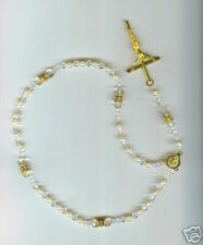 Rosary/Rosario/Austrian Crystal/CZ's/gold/pearls/1472