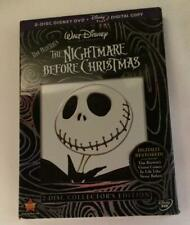The Nightmare Before Christmas (DVD, 2008, 2-DISC Set, Collectors Edition) - New