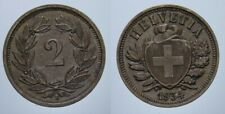 2 RAPPEN 1934 SVIZZERA