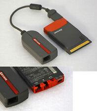 XIRCOM CARDBUS PCMCIA 10/100 LAN KARTE 56k MODEM RBEM56G-100 180-0066-002 ISDN