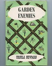 GARDEN ENEMIES Control of Pests and Diseases Ursula Newman ILLUSTRATED HB BOOK