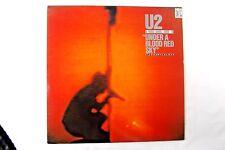 U2 UNDER A BLOOD RED SKY VINYL LP 1983 12 inch