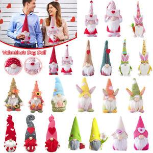 Valentine's Day Gnomes Gonks Plush Doll Xmas Dwarf Elf Ornament Home Decor Gifts