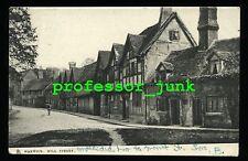 WARWICK Mill Street WARWICKSHIRE - Antique Raphael Tuck Town and City Postcard