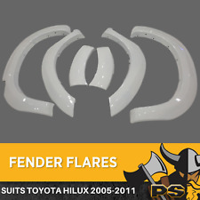 Flares to suit Toyota Hilux 2005-2011 Front Guard W/ Rubber 2 PC Front Fenders