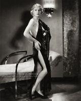 Vintage 1932 GLORIA STUART Publicity Photo Actress Starlet Leggy Revealing Dress