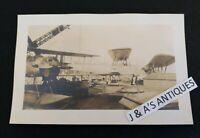 Vintage US Navy Plane Photo Aviation Military Propeller Plane