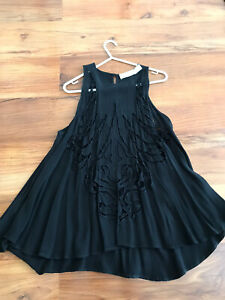 Alice Mccall Size:AUS4 Pre-owned Summer Tops Pre-owned Women Black