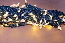20 Meter Warm Weiß Lichterkette für Aussenawendung, Funkeln, NEU für DRAUSEN