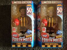 2016 AFL MICRO FIGURES - TALKING FOOTY MATE - SAM MITCHELL & CYRIL RIOLI - BNIB