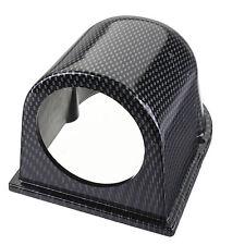"""2"""" 52mm Carbon Fiber Car Single Hole Gauge Dash Mount Pod Holder Universal"""