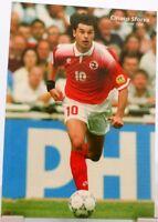 Ciriaco Sforza + Fußball Nationalspieler Schweiz + Fan Big Card Edition D77 +