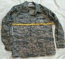 64c3c0e054611 Air Force ABU Airman Battle Uniform Digital Camo Shirt Blouse 40R Tiger  Stripe