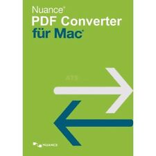 Nuance PDF Converter für Mac 1 Gerät Vollversion ESD Download ab OS X 10.10