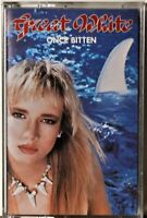 Cassette Great White Once Bitten TESTED Rock Me 80's Hair -Extra Tapes Ship Free
