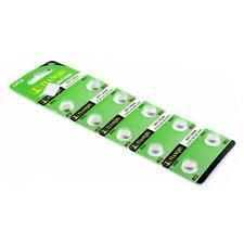 10 Pcs AG1 364 LR621 164 531 SR60 SR621SW 1.55V batería alcalina batería tipo moneda Reloj
