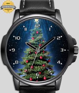 Christmas Tree Unique Unisex Beautiful Wrist Watch UK FAST