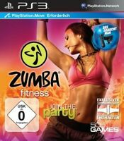 PS3 / Playstation 3 - Zumba Fitness - Join the Party benötigt Move DE/EN mit OVP
