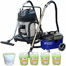 Pro Valet Carpet Upholstery Cleaner & KV60-2 Wet Dry Vacuum & Powder Detergent