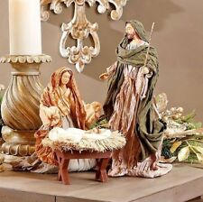 "RAZ Holy Family Christmas Nativity Set 13.5 "" -  3 piece set CLEARANCE DAMAGED!"