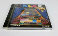 [ SEALED ] Klax PC Engine TurboGrafx-16 JAP Japan Import NEC PCE