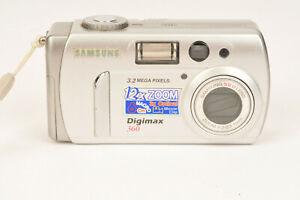 Samsung Digimax 360 Digital Camera Uses AA Batteries Ideal for Kids