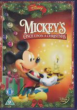 Mickey's Once Upon A Christmas Disney R2 Pal DVD