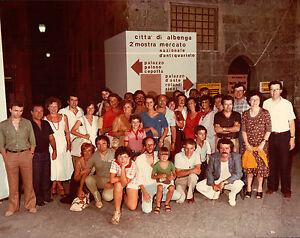 VERA FOTO ALBENGA ANGELO VIVERI INAUGURAZIONE MOSTRA ANTIQUARIA 1978  12-121E