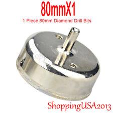 80mm Diamond Drill Bits Hole Saw Cutter Tool Glass Marble Granite Ceramic Tile