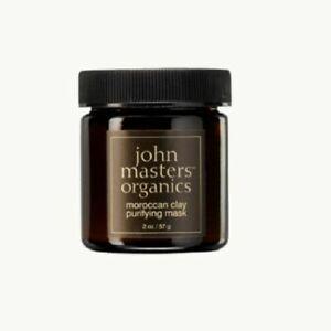 NIB John Masters Organics moroccan clay purifying mask - 2oz