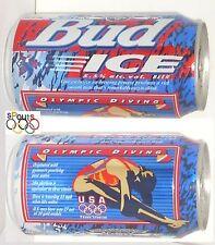 1996 USA Olympic Diving Team Bud Ice Bier kann Atlanta Sport Budweiser Schwimmen Tauchen