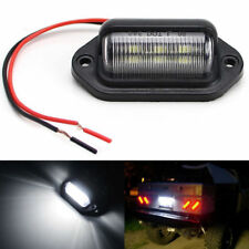 Universal 6 SMD LED License Plate Tag Lights for Car Truck SUV RV Trailer Van