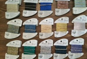 Treasure Braid Petite  Embroidery Thread   by Rainbow Gallery  Choose Your Color