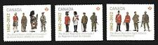 2012 Canada SC# 2578-2580 The Regiments Lot# 338b M-NH from booklets