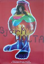More details for bjork volta original mint promo poster 2007 sugarcubes one little indian