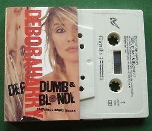 Deborah Harry Def Dumb & Blonde inc Bike Boy + Cassette Tape - TESTED